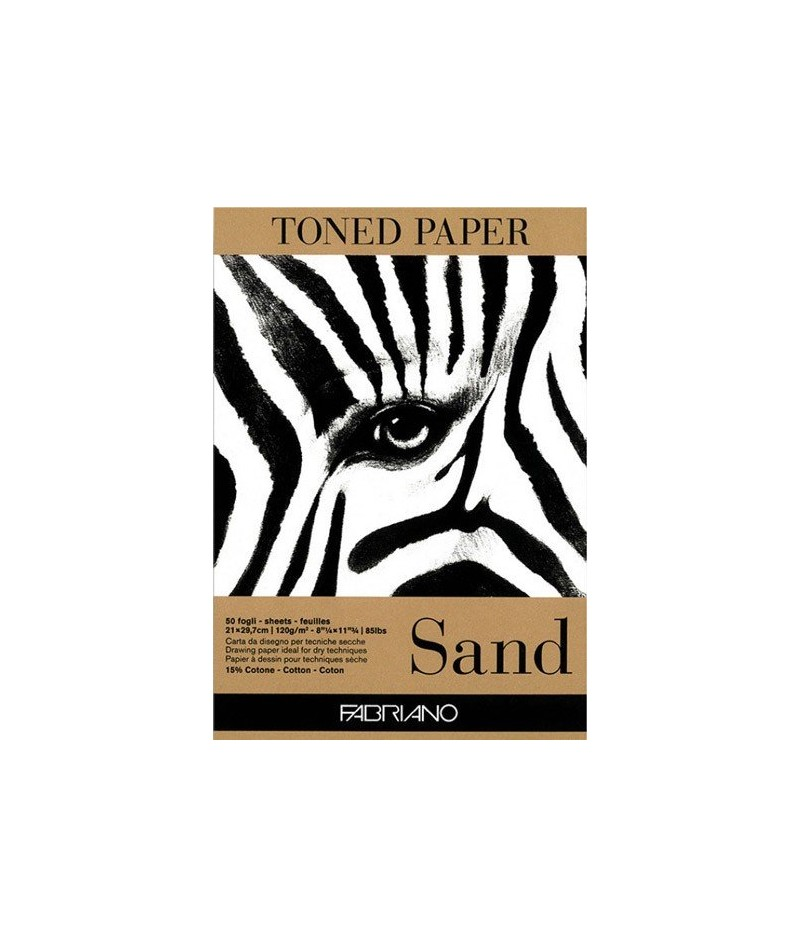 Blok Toned Paper Sand 120g,...