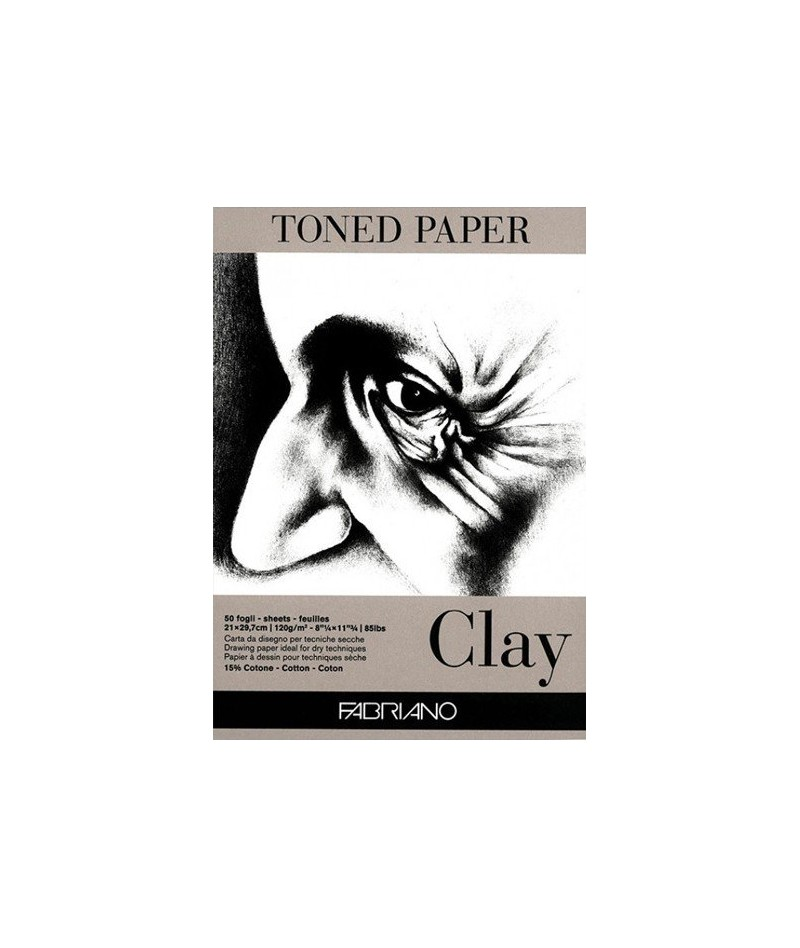 Blok Toned Paper Clay 120g...